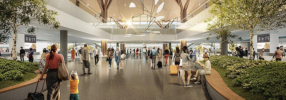 Pittsburgh International Airport Restarts Terminal Modernization Project