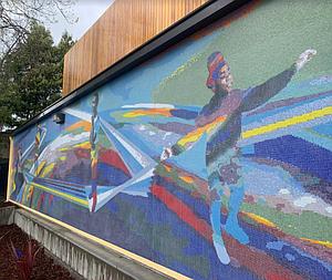 Muralist Johanna Poethig Transforms Oakland's Rainbow Recreation Center