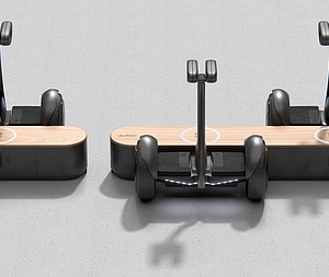 Pininfarina Designs Indoor Charging Station for Light Electric Vehicles