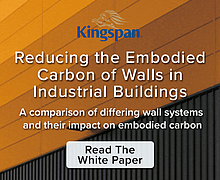 Reducing the Embodied Carbon of Walls in Industrial Buildings