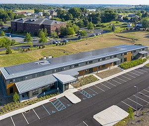 New Net Zero Energy Office Building Challenges Conventional Thinking on Efficiency in the Commercial Sector