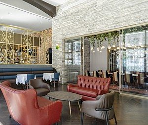 TPG Architecture's Hospitality Studio Reimagines Jersey City Restaurant Porto Leggero