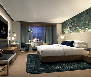 Interior Image Group to Reimagine Guest Rooms and Suites at Two Atlantic City Destinations