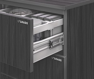 Grass America Announces ZBox Metal Drawer System with Integrated Ball-Bearing Slides Ideal for Commercial Construction