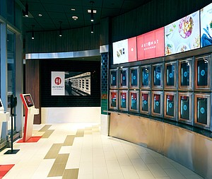 Contactless Automat Kitchen Reinvents the Old Automat for 21st Century