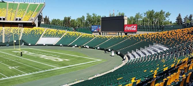 Edmonton Eskimos at Commonwealth Stadium