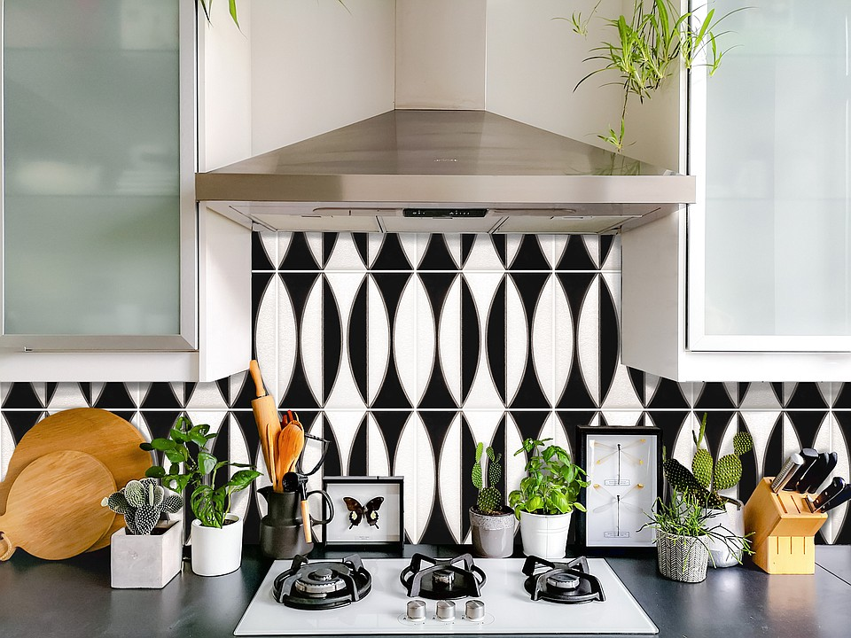 """Imagine Tile Inc. Introduces """"Surfboards"""" Ceramic Wall Tile Collection by Erin Adams"""