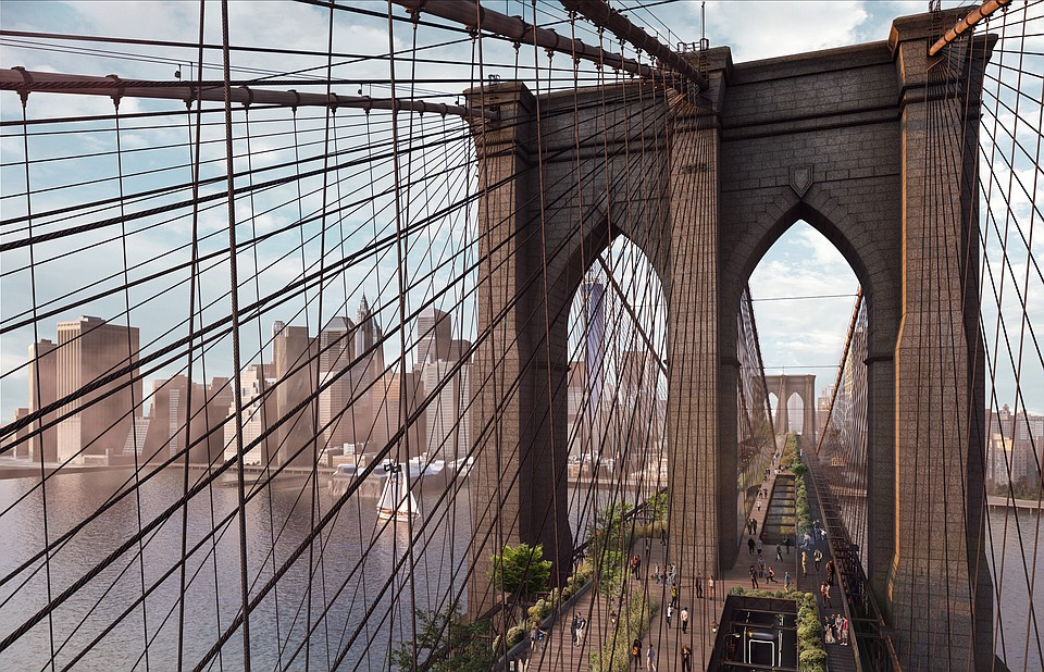 DXA Studio Recognized At The 2021 Nycxdesign Awards For Its Reimagining Of The Brooklyn Bridge