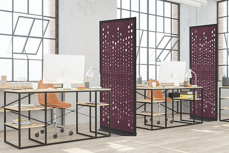 Fabric Images, Inc.® Introduces Four New Acoustical Partition Products