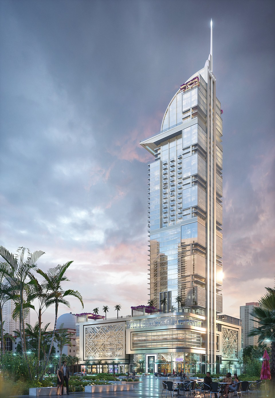 World's First COVID-Conscious Skyscraper and Medical Center Unveiled by Miami Mayor, Adventist Health and Royal Palm Companies
