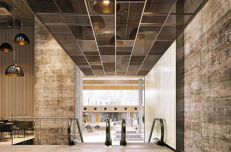 MetalWorks™️ Mesh Ceiling Panels from Armstrong Now Available in Larger Sizes
