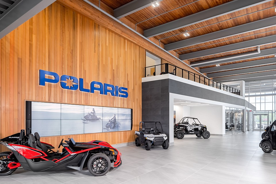 Polaris Taps NELSON Worldwide to Reconceptualize Minnesota HQ With Upgraded Office, Showroom, and Retail Store
