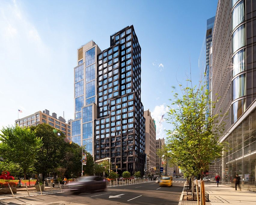 S9 Architecture creates gridded façade for 111 Varick tower in Manhattan