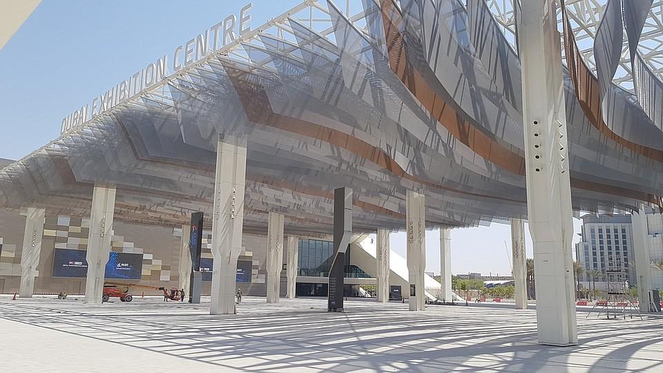 Kaynemaile's 'WonderCool' greets visitors at Dubai World Expo 2020