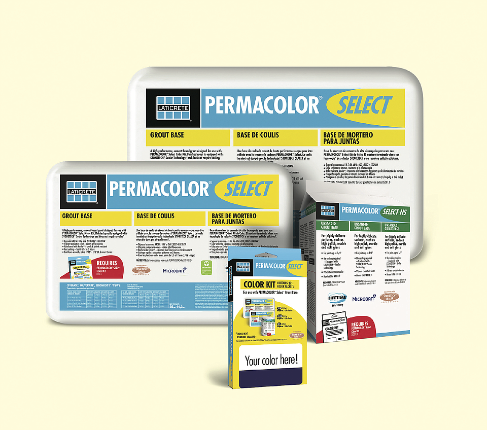 LATICRETE Launches New Special Edition Grout Color Options to the PERMACOLORⓇ Select AnyColor™️ Line