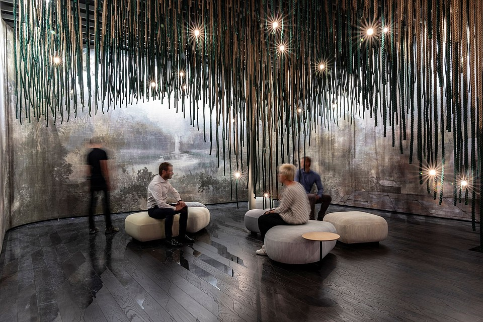 """A Wellbeing Refuge -- At CERSAIE 2021 Pininfarina presents """"The Cave"""""""