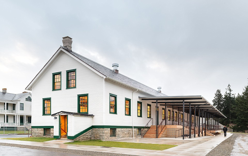 Adaptive Reuse of a Turn-of the-Century Military Fort Bridges Past and Future