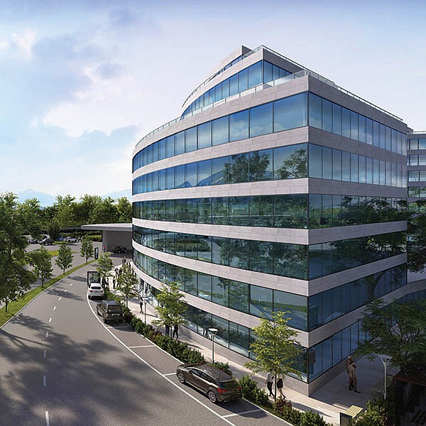 Dynamic Glass Integral Part Of Smart Building