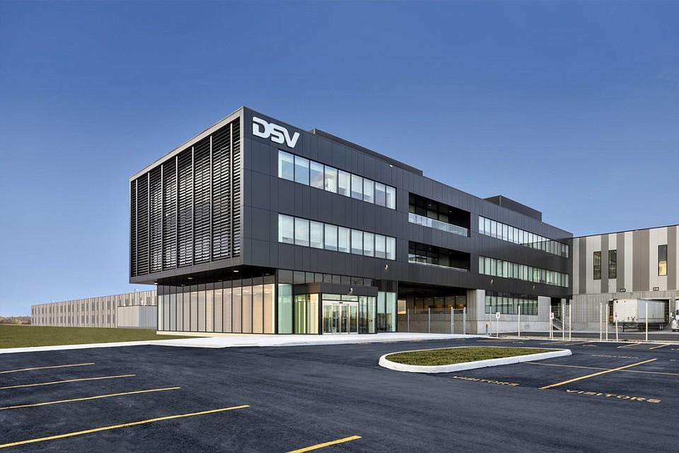 Ware Malcomb completes DSV Canada HQ