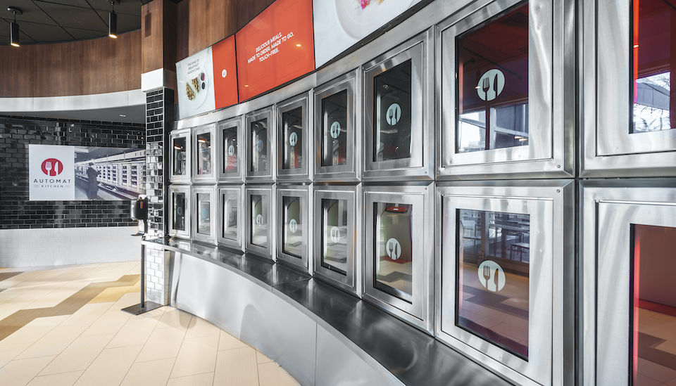 Automat Kitchen cubby wall by GTL Construction